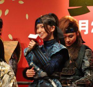 くの一火垂役を演じる大島優子さん。