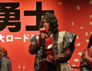 真田幸村役は加藤雅也さん。シブい!