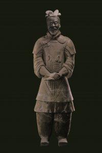 《将軍俑》秦始皇帝陵博物院蔵