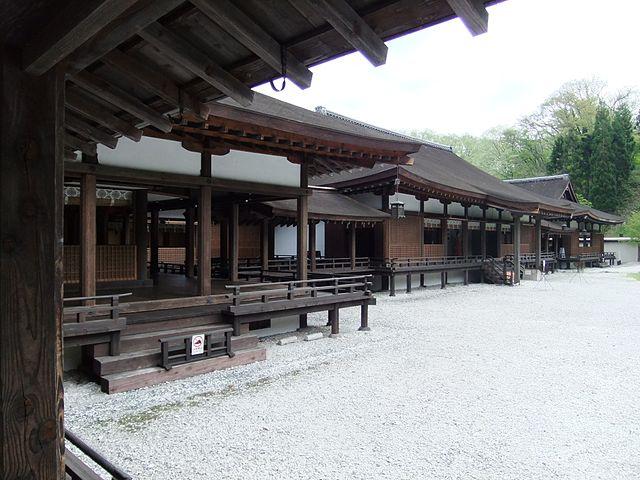 寝殿造りが再現された「伽羅御所」