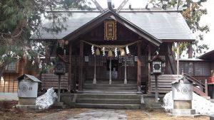 新潟にあり榊原家を祀っている「榊神社」