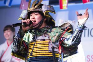 DO THE SAMURAI代表 RYO!さん。
