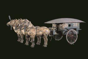 《2号銅車馬》(展示は複製)秦始皇帝陵博物院蔵