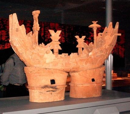 船の器財埴輪