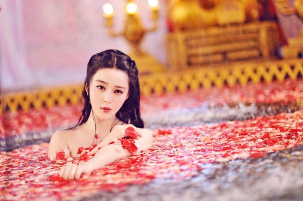 中国のトップ女優ファン・ビンビン