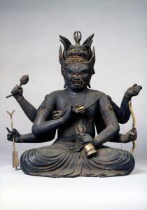 重要文化財《愛染明王坐像》鎌倉時代 舎那院蔵(宮前町)