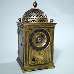久能山東照宮博物館に保管されている洋時計