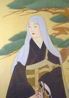 「信忠の死後、尼となり信松尼と称した松姫」