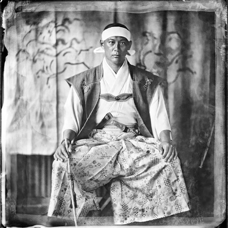 福島相馬家第34代当主 相馬行胤氏。現在は広島で酪農家として活躍中。