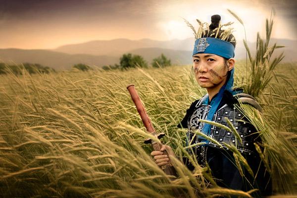 トンマン王女(後の善徳女王)を演じたイ・ヨウォン