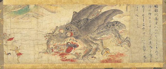 「辟邪絵 神虫」(奈良国立博物館蔵)