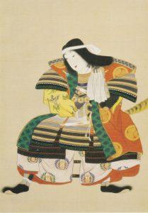 「甲冑姿の小松姫こと稲」