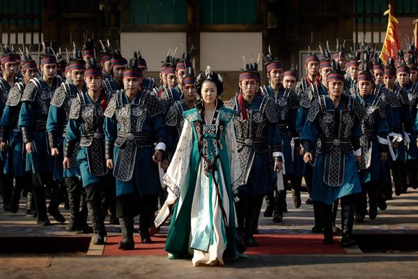 画像③:コ・ヒョンジョン演じる善徳女王の最大のライバル、悪女ミシル