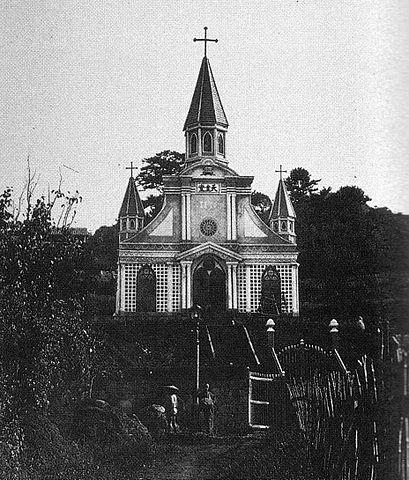 創建時の大浦天主堂