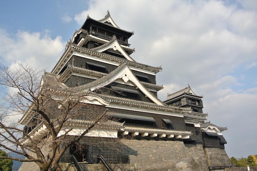 昨年12月の熊本城。この頃に地震がくるとは思いも寄らなかった。