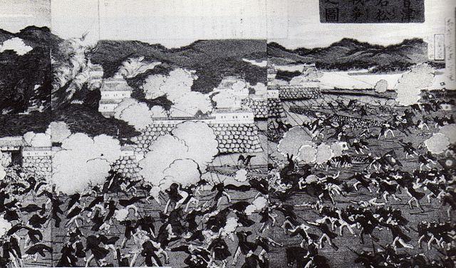 会津戦争を描いた図