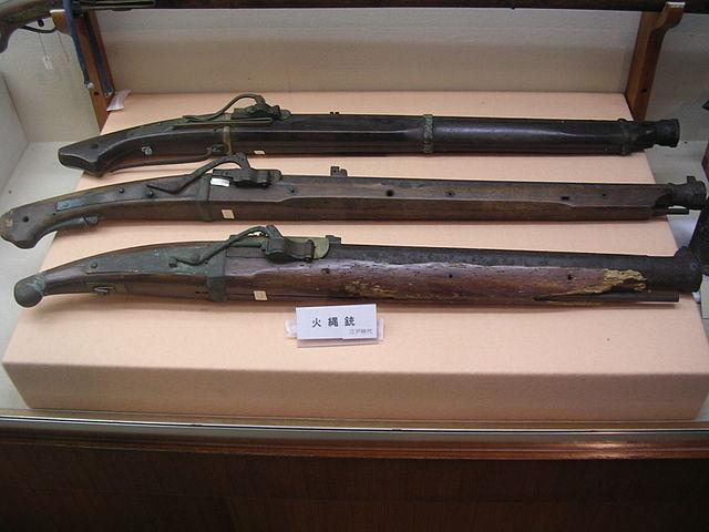 火縄銃(江戸時代)