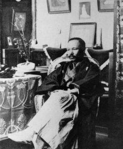 明治文学の巨人 森鴎外は軍医でもあった。日清・日露戦争へ出征。