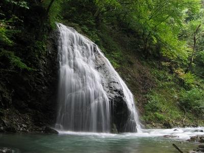 福島県にある馬尾の滝