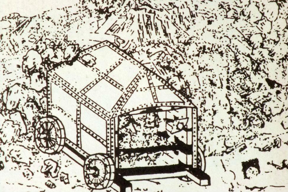 【 不落の城も陥落 】 うわじま牛鬼まつりの起源?文禄の役で活躍した戦車「亀甲車」