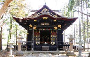 「信幸と稲の位牌が祀られている長國寺の御霊屋」