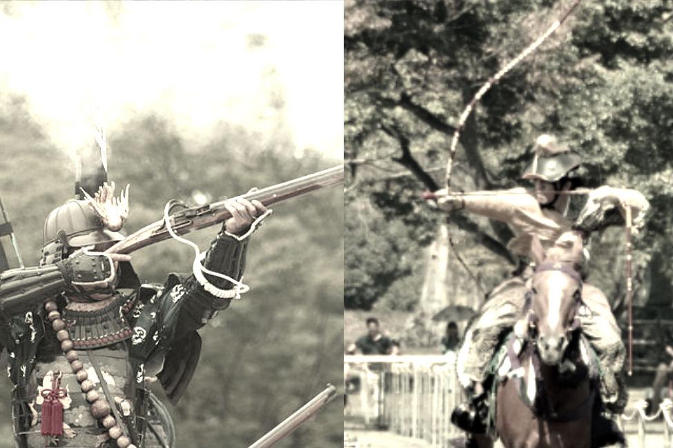 【 弓vs銃 】 どっちが強い?戦場で弓と火縄銃の一騎討ち、その結果とは…