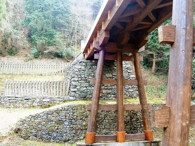 見事に再現された橋