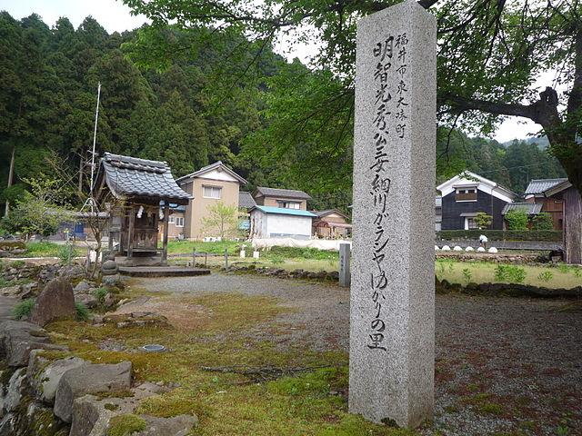 細川ガラシャ生誕の地・福井市の明智神社