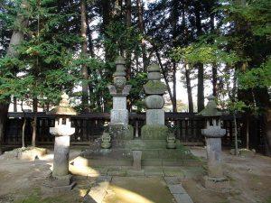 甲州市恵林寺の武田信玄公墓所