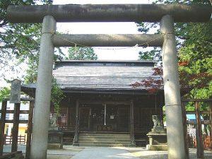 米沢城址にある松岬神社には上杉景勝、直江兼続が祀られている
