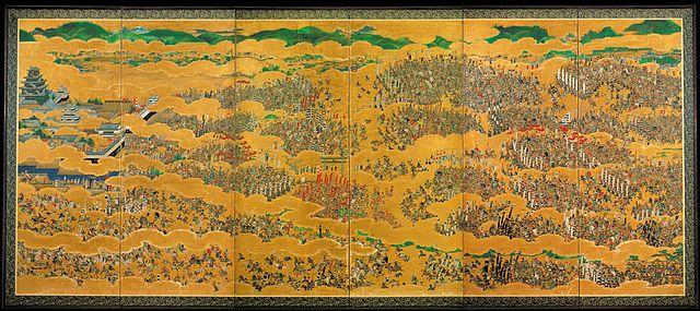 黒田長政が一流の絵師たちに描かせた「大坂夏の陣図屏風」