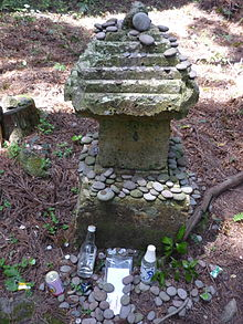 薩摩半島頴娃の墓