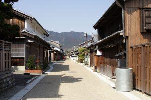 東海道で人気の関宿(三重県亀山市)