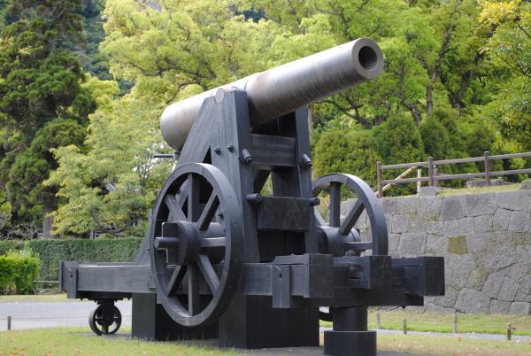 「薩摩藩の大砲」