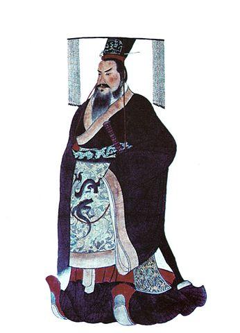 「史上初の中国統一を成し遂げた始皇帝」
