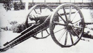 上野戦争で使用されたと言われるアームストロング砲