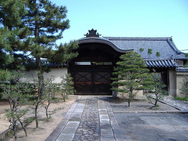 「織田信長の菩提寺として有名な大徳寺総見院」