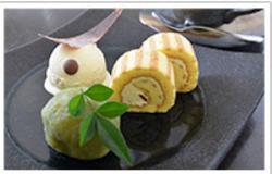 特別展限定メニュー 伊達政宗のデザートセット1,250円