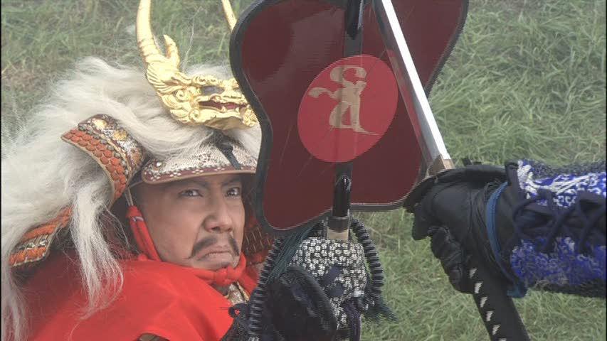 信玄公役の市川亀治郎さん (C)NHK