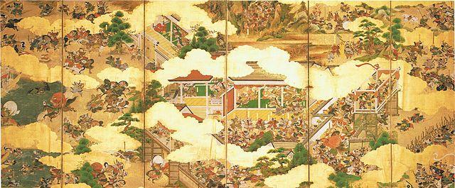 『源平合戦図屏風』/赤間神宮所蔵