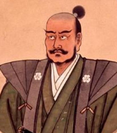結構なコワモテの長宗我部盛親(京都・蓮光寺所蔵)