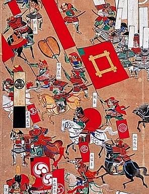 『関ヶ原合戦屏風』に描かれた井伊勢。