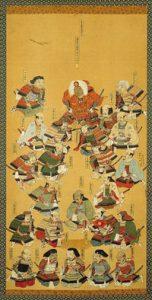 武田二十四将図(武田神社所蔵品)