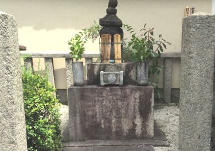 「盛親の墓(京都府・蓮光寺)」