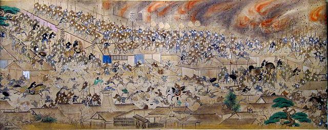 「江戸の大半を焼失した明暦の大火(明暦3年/1657年)」
