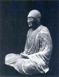 唐招提寺に安置されている国宝「鑑真和上像」