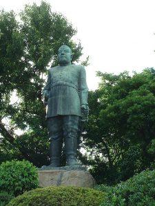 鹿児島市の西郷銅像。