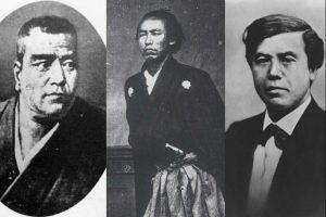「薩長同盟の中心にいた3人(西郷、坂本、桂)」