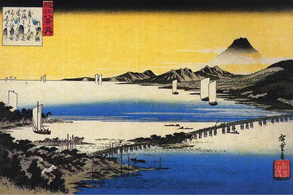【 唐橋を制する者は天下を制す 】「急がばまわれ」の由来、瀬田の唐橋は超重要地点だった