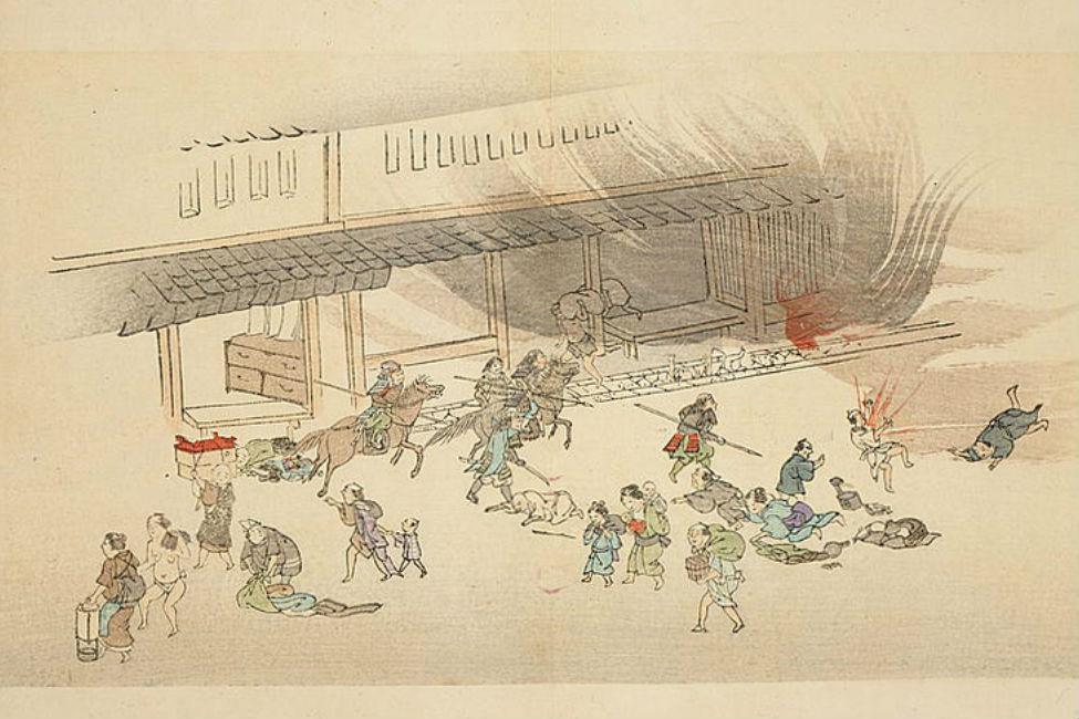 【 東京遷都の遠因?】 禁門の変で京都を飲み込んだ大火「どんどん焼け」